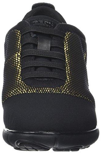 Scarpe gold C Ginnastica black Donna Basse Da Nebula Geox D Nero tqwvEzq7