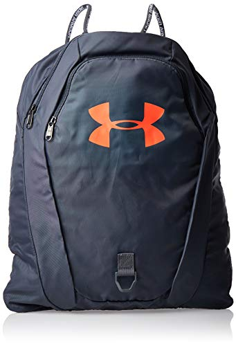 Under Armour Undeniable 2.0 Sackpack, Pitch Gray (013)/Beta Red, One Size Fits All