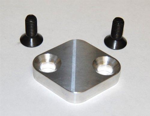 Torque Solution EGR Delete Kit Silver : Mitsubishi DSM Eclipse / Talon / Laser / Starion / (Mitsubishi Eclipse Talon Laser)