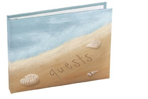 - Seaside Jewels Beach Guest Book, Personalized.