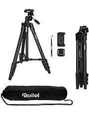Rollei 22638 Compact Traveler Star Smartphone houder, Smartphone statief, zwart
