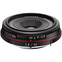 Pentax K-Mount HD DA 40mm f/2.8 40-40mm Fixed Lens for Pentax KAF (Limited Black)