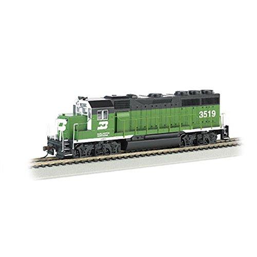 Burlington Locomotive Northern - Bachmann Industries EMD GP40 DCC Ready Locomotive - Burlington Northern #3519 - (1:87 HO Scale)