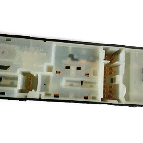 Coche Interruptor Principal Derecho Ventanilla Puerta Trasera Lado Conductor Para Nissan Qashqai 01-08