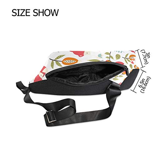 Bag Backpack Women Foxs Pattern Bennigiry Bags Crossbody Shoulder For amp; Men One Sling Chest HzxAq8Ow