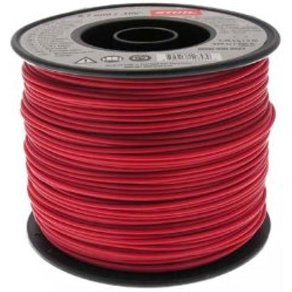 Stihl 0000 930 2227 2227-Carrete de manguera neumática (2,7mm x 215 m, 1,4 kg), color rojo, 2.7mm: Amazon.es: Bricolaje y herramientas