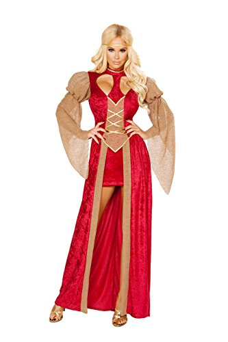 [Sexy Classy Renaissance Cutie Costume] (Medieval Serving Wench Costumes)