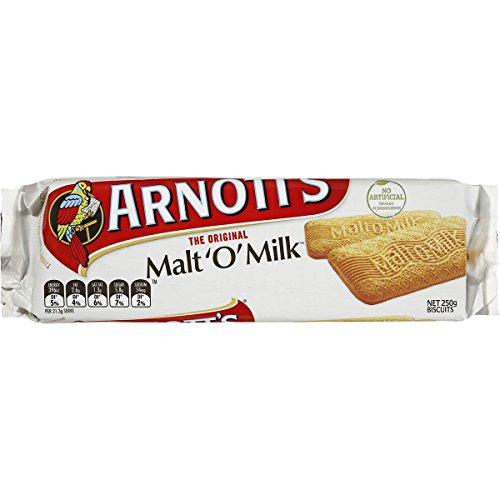 Arnotts Biscuits Malt-o-milk 250gm