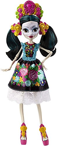 Monster-High-Mueca-de-coleccin-Skelita-Ca-Mattel-DPH48