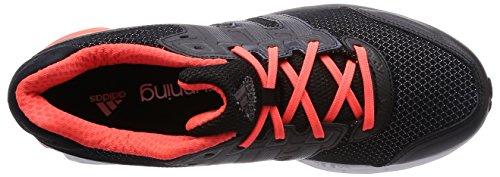 adidas Nova Stability M - Zapatillas de running unisex, color negro / rojo Negro / Naranja