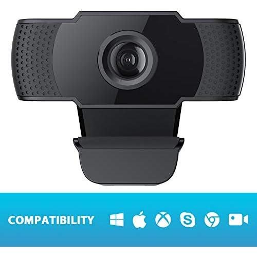 chollos oferta descuentos barato cámara Web 1080P HD cámara Web incorporada micrófono cámara con Clip Web para computadora PC portátiles Skype Vedieo Call Record Webcam Web 1