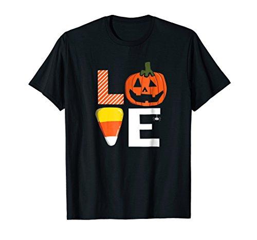 Love Halloween Pumpkin Candy Corn Spider Cute -