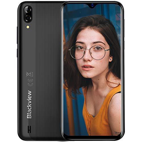 Blackview A60 Smartphone ohne Vertrag Günstig 15,49 cm (6,1 Zoll) HD+ Display 4080mAh Akku, 13MP+5MP Dual Kamera, 16GB…
