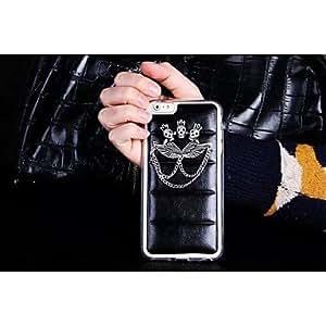 GX caso duro del patrón pc cráneo diseño de estilo de cuero para el iphone 6 más
