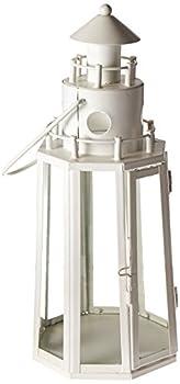 Home Locomotion 10014634 Lighthouse Candle Lantern