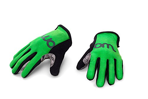 woom Children Gloves (Ages 2-5), Green, Size 5