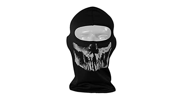 Full Mask - Unisex Full Mask Halloween Skull Skeleton Outdoor ...