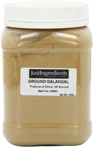JustIngredients Galangal Ground Tub 450 g