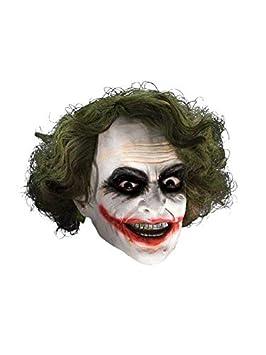 DISBACANAL Máscara Joker con Peluca