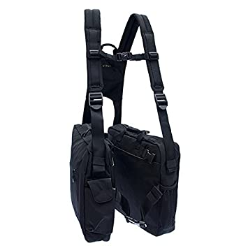 7a7a70ec8b26 BackTpack 4 Ergonomic Backpack, School Bag, Laptop Case, Black/Khaki