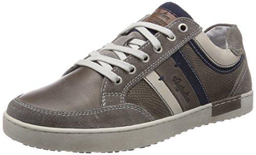 AUSTRALIAN Mellow Leather, Sneaker Uomo Grau (Grey-blue)