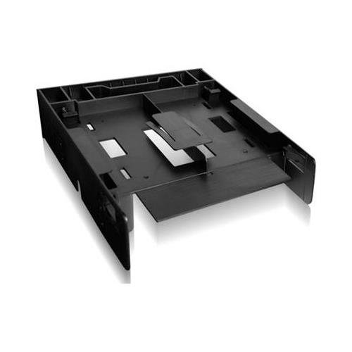 """Icy Dock MB343SP FLEX-FIT Trio 2x SSD 3.5"""" to 5.25"""" Bracket * Front Bay Conversion Kit with 2 x 2.5"""" HDD/SSD Bay"""