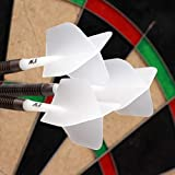 CUESOUL 9 Pieces Integrated Dart Shaft and Flights