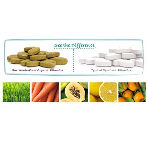 Pure Synergy Super B Complex (60 Tablets) B Vitamin Made w/Organic Fruits & Veggies