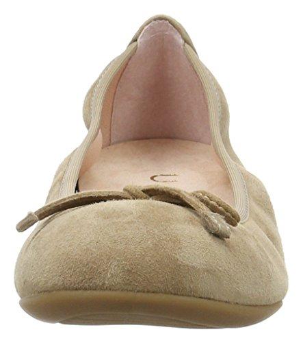 Unisa Damen ACOR_17_KS Geschlossene Ballerinas Beige (Tanin)