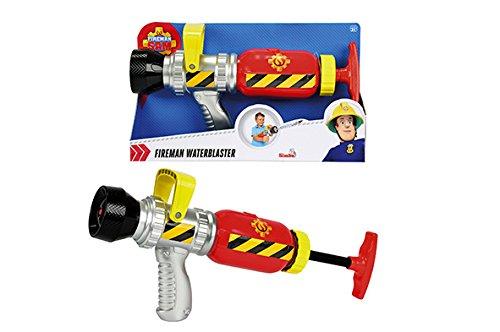 Simba 109251746002 sam le pompier pistolet à eau jeu plein