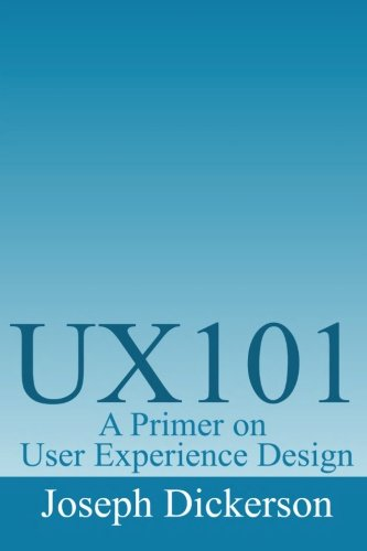 UX101: A Primer on User Experience Design ebook