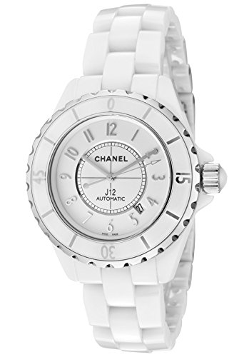 Chanel J12 White Dial Ceramic Automatic Unisex Watch H2981