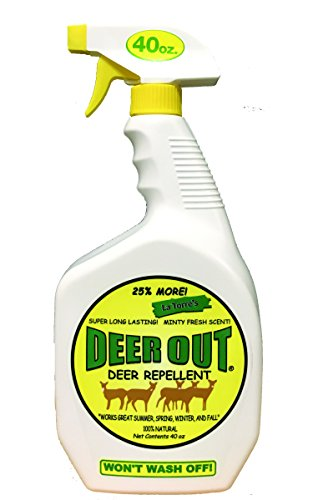 - Deer Out 40oz Ready-To-Use Deer Repellent