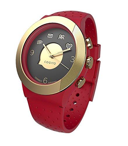 Cogito FIT - Smartwatch con Bluetooth, color rojo y ora ...