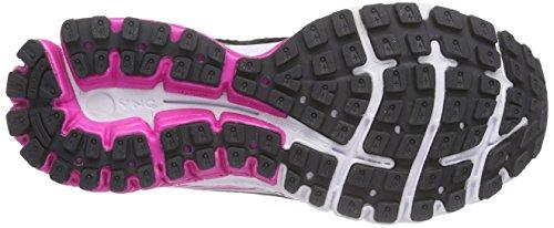 Phantom 3 Brooks de Chaussures Running Marron Femmes Aduro Black Neonmagenta 6w0wFH5q