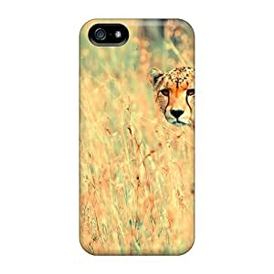 Ultra Slim Fit Hard JoinUs Case Cover Specially Made For Iphone 5/5s- Beautiful Cheetah