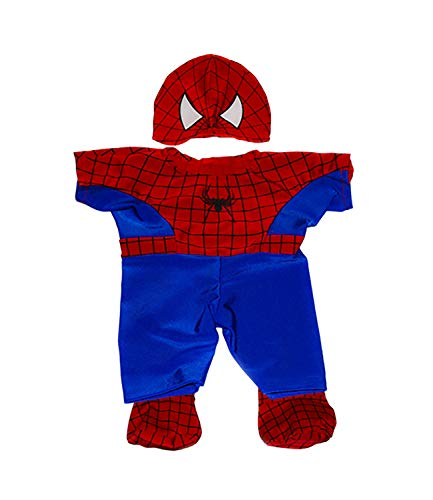 (Spidey Teddy Outfit Fits Most 8