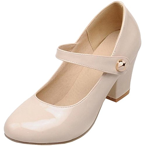 Beige Women Heels Zuban Fashion Chila Pumps xYSAw0qWX