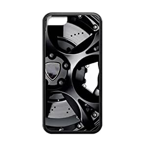 Tt-shop Custom Phone Case Cover Car Wheel For Iphone 5C (Laser Technology) G440