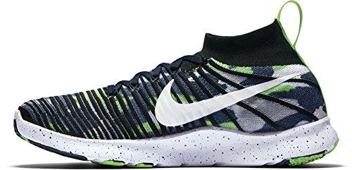 Nike Mænds Gratis Tr Kraft Flyknit Dangeruss Wilson Løbesko Amerikansk College Marineblå / Hvid sCi3zKEURP
