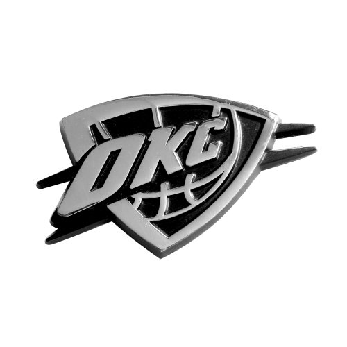 FANMATS NBA Oklahoma City Thunder Chrome Team Emblem
