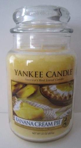 Yankee Candle 22 oz Jar Banana Cream Pie