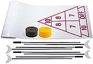 Champion Sports Shuffleboard Set: Indoor Outdoor Game