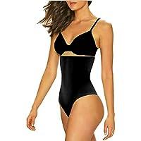 ShaperQueen 102 Thong (Classic) Best Womens Waist Cincher Body Shaper Trainer Girdle Faja Tummy Control Underwear Shapewear