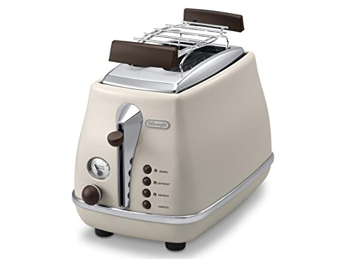 Delonghi CTOV2103BG Icona Vintage Toaster 220-240 Volts 50Hz Export Only