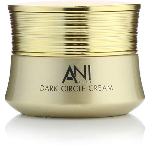 Anigold Retinol Eye Cream for Dark Circles, Fine Lines, Puffiness, and undereye bags. Anti-aging Eye cream with Retinol, Hyaluronic Acid, Caffeine, 24KT Gold. 1 fl oz (30mL)