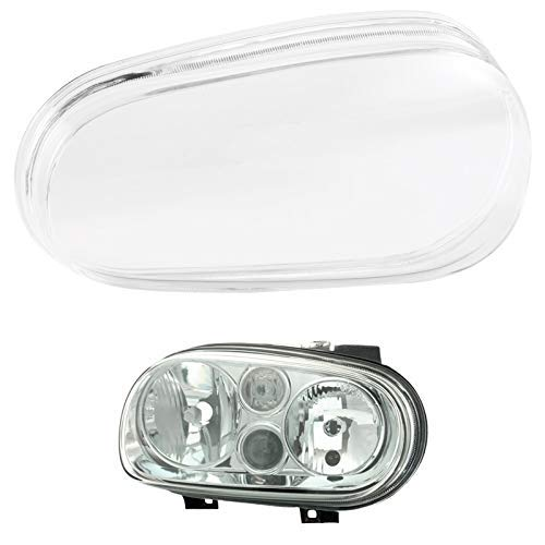 Car Auto Van Headlights Glass Lense Left Side Headlamp Cover Hamimelon