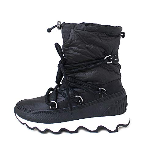 Black Sorel Boots White Snow Women's vvtqw6r0