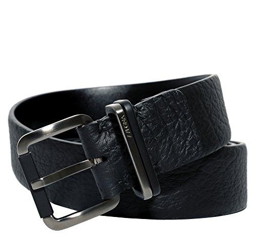 Ermenegildo Zegna Men'S Leather Belt, Black