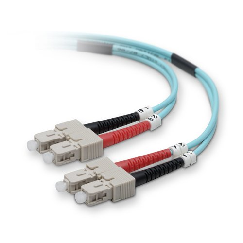 Belkin COMPONENTS F2F40277-30M-G Fiber Patch Cable 10 Gig...